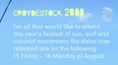 Croydestock 2008